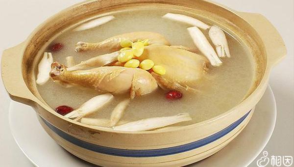 党参炖鸡汤