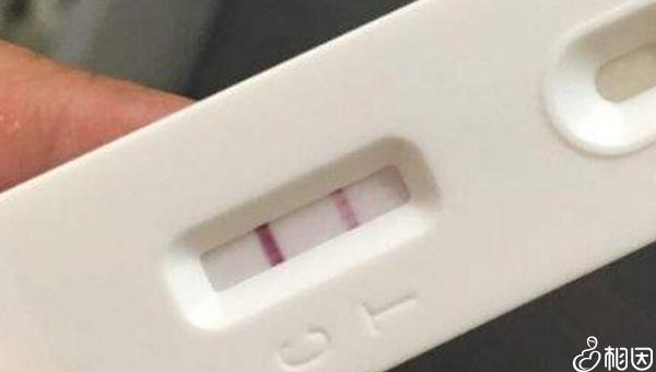 验孕棒显示一深一浅