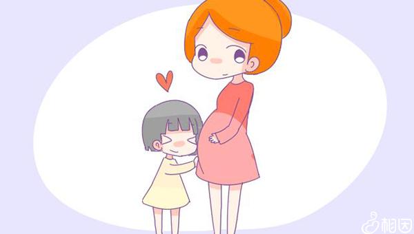 怀二胎的妈妈