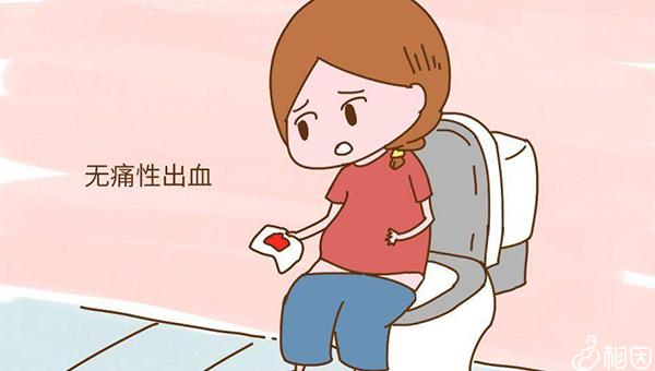 怀孕初期肚子出现无痛出血