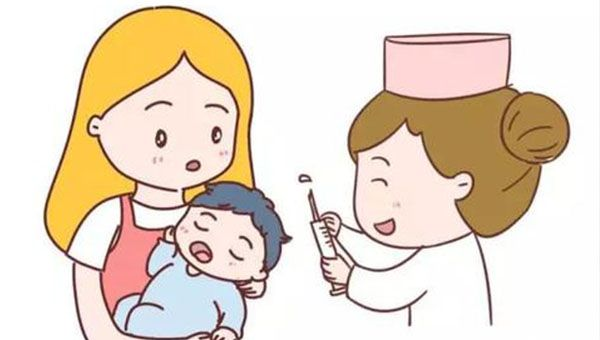 宝宝接种疫苗