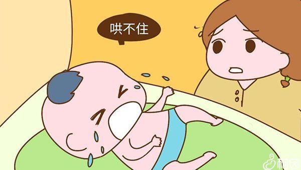 宝宝哭闹是正常的