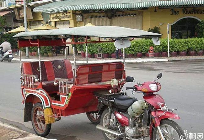 柬埔寨嘟嘟车