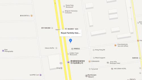 柬埔寨皇家医院详细地址