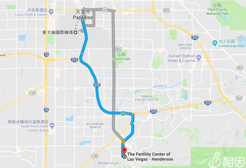 从机场到生殖中心详细路线图