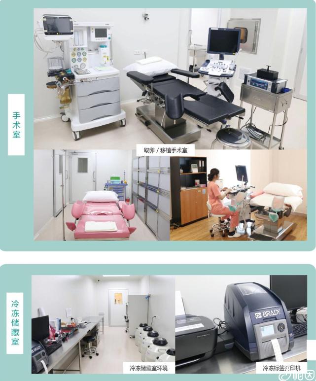 手术室和冷冻储藏室