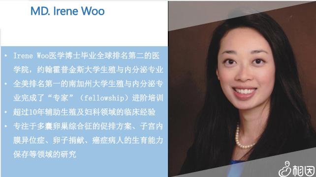 Irene Woo博士