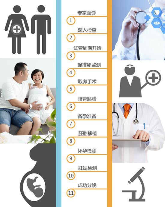 SCRC试管婴儿流程图