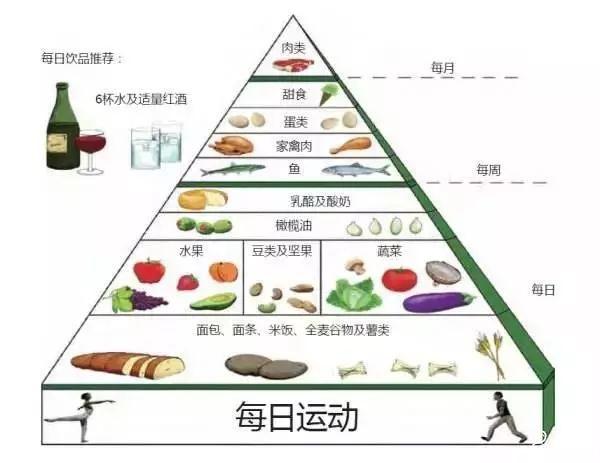 合理的饮食结构