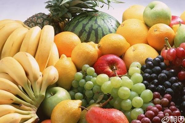 各种各样的水果