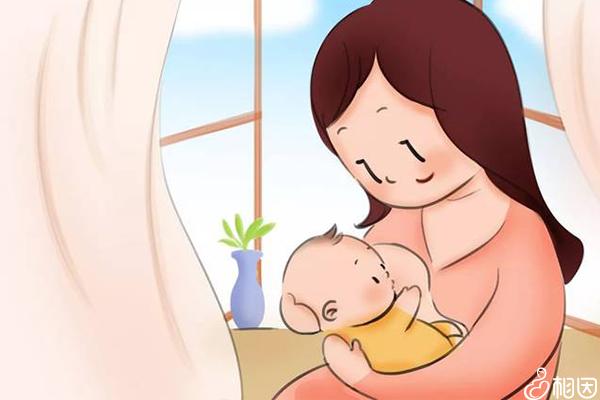 正在喂母乳的妈妈