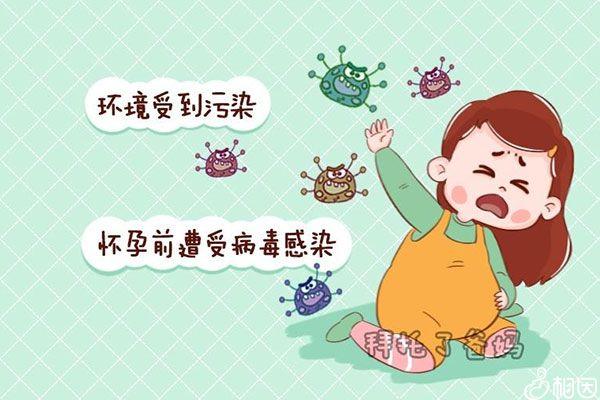 病毒会引起胎儿发生染色体变异