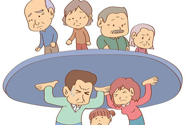 独生子女赡养老人的负担会更重