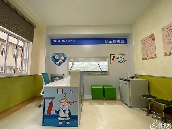 百白破疫苗接种室