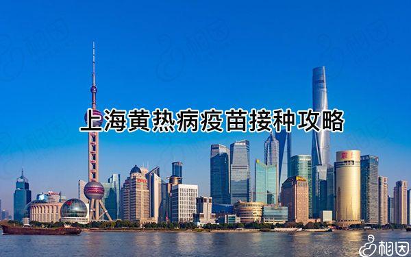上海黄热病疫苗接种攻略