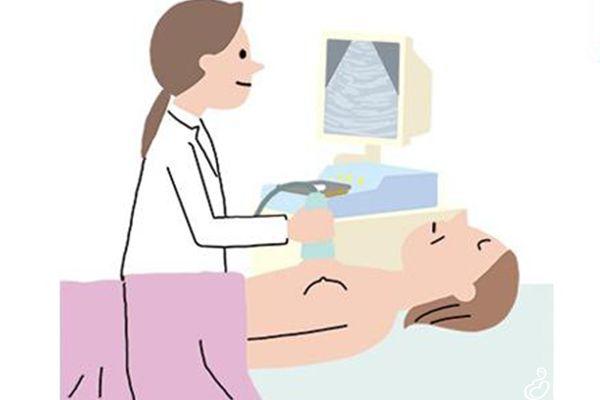 患者平躺在床上